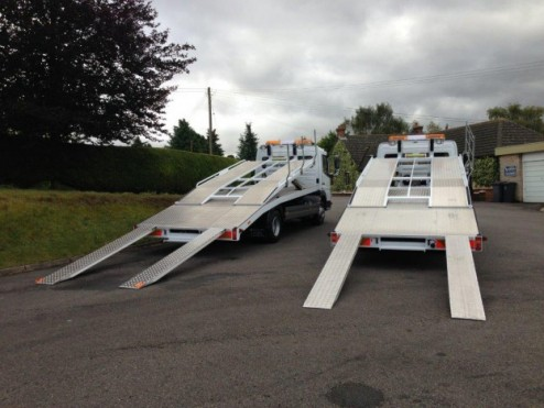 Twin Deck Transporter - Deluxe HD